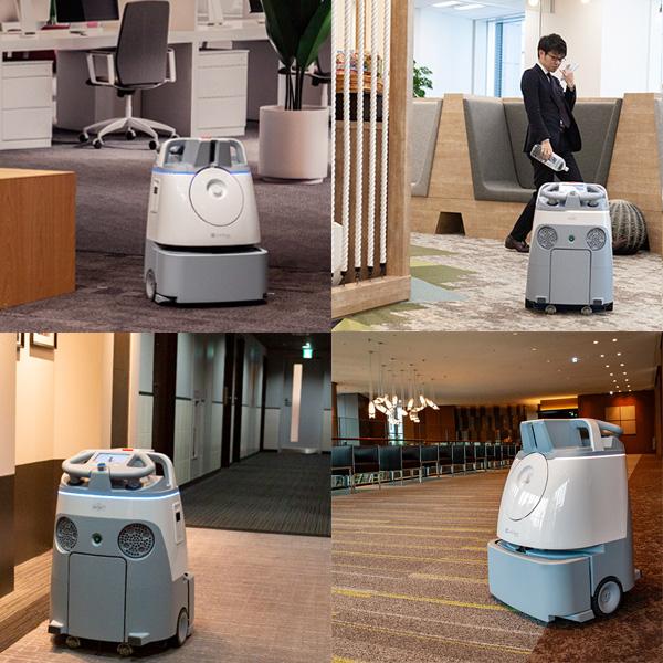 AI床清掃ロボットWhiz(ウィズ)