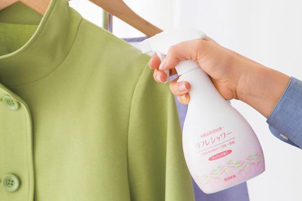 外からウイルスを持ち込まないためにリフレシャワーで衣類を除菌!